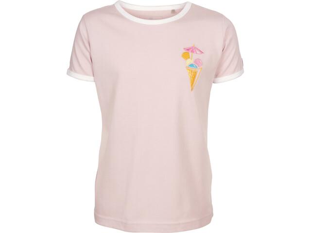 Elkline Mostwanted T-shirt Fille, softstone